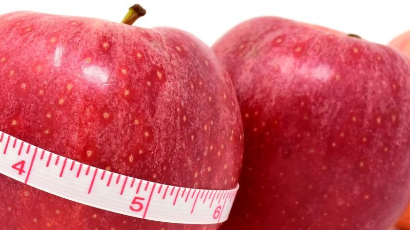 How to lose weight with apple diet