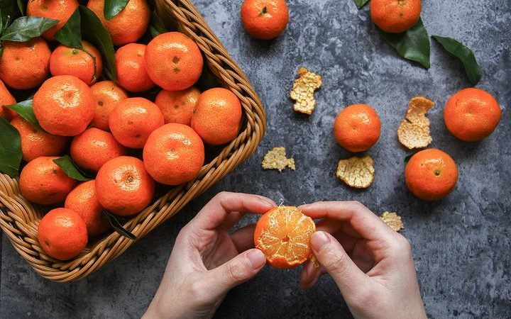 What is the orange pith, eat it or not?