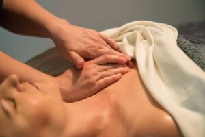 massaging your breasts